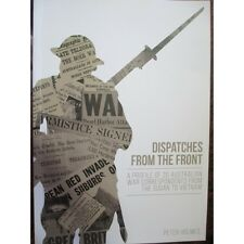 Dispatches from the Front Australian War Correspondents Book WW1 WW2 Vietnam
