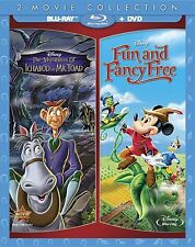THE ADVENTURES OF ICHABOD & MR TOAD /FUN AND FANCY FREE  -  Blu Ray -Region free