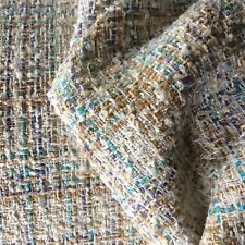 D226 avorio multi colore wool-cotton-viscous-linen-tencel BOUCLE MADE IN ITALY