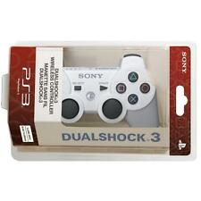 New White Wireless Bluetooth Controller for PS3