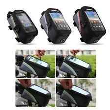 Roswheel Cycling Bike Front Top Frame Pannier Tube Bag Pouch for Cell Phone W7E7
