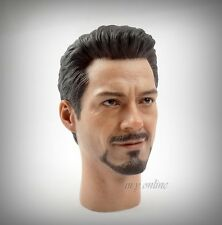 Hot Toys The Avengers Iron Man MARK VII Figure 1/6 TONY STARK HEAD