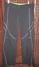 Nike gray zumba pants M 8-10 womens fitness sweatpants 31-32 W green