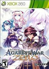 Xbox 360 Record of Agarest War Zero Standard Edition VideoGames