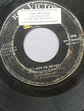 "ELVIS PRESLEY 45 RPM ""It's Now or Never"" ""A Mess of Blues"" G condition"