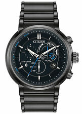 Citizen Eco-Drive Proximity Perpetual Calendar Black Dial Men's Watch BZ1005-51E