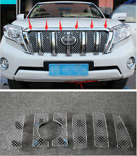 Honeycomb Style Front Grille Grill Mesh Cover for TOYOTA Prado FJ150 2014 2015