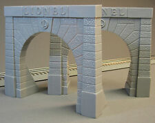 LIONEL FASTRACK TUNNEL PORTALS train fast track stone entrance 6-12896 (PAIR)