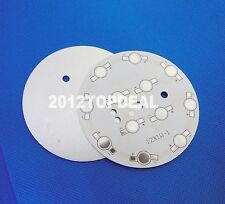 12w 78mm Circle Aluminum PCB Circuit Board for 12PCS x 1W,3W,5w LED in Series