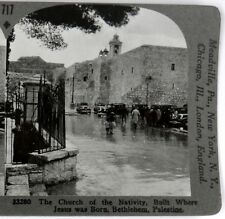 PALESTINE, Church of the Nativity,Built Where Jesus was Born--#717 Keystone*