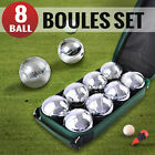 Deluxe Boule 8 Alloy Ball Set in Carry Bag Boules Bocce Petanque Jack Regent