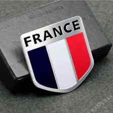 France French Flag Emblem Auto Badge Decal Sticker For Peugeot Citroen Renault