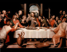 Last Supper religious Jesus Christ Art Print POSTER Poster Print, 19x13