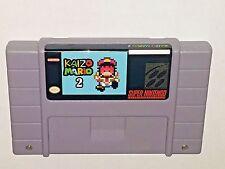 Kaizo Mario 2 - game For SNES Super Nintendo - Platformer - Very hard!