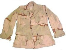 US Army 3 color desert DCU Combat Uniform BDU coat Jacket Jacke XXLR