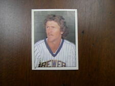 Robin Yount Lot 1981 TOPPS  STICKER #95 Scratch off 1989 Mini Sticker back card