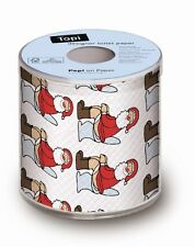 Festive Holiday Toilet Paper Roll Christmas Father Decorations Xmas Santa Gift