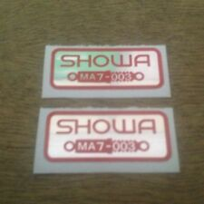 "HONDA CBX550 F2 ""SHOWA FORKS DECALS"""
