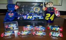 JEFF GORDON No. 24 COLLECTION - 2001 MONTE CARLO  ELITE COLLECTIBLE, TY, TREVCO