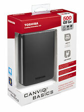 500GB Toshiba Stor.E Canvio Mobile External Hard Drive External USB Disk HDD HD