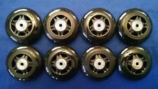 Outdoor Rollerblade Inline Hockey Skate Wheels (72mm / 83A) + Bearings + Spacers