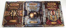 Dungeons & Dragons MANUALE DEL GIOCATORE + GUIDA MASTER + DEI MOSTRI D&D 3.5 d20