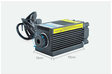 Adjustable 1W 1000mW Blue Engraving Laser Module 12V Focusable High Power 450nm