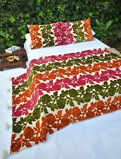 Moroccan blanket wedding velvet duvet cover berber pillows floral throws bedding