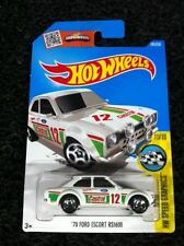 Hot Wheels Diecast - Ford Escort Castrol (White) NEW