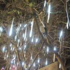 144 LED/240 LED Meteor Shower Rain Light Tube String Christmas Tree Party Decor