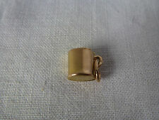 9ct 9carat Yellow Gold Traditional Charm, Cup