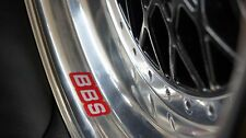 BBS Wheels felgen Decal Sticker Set of  4