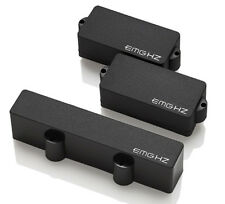 EMG PJHZ Passive Bass Pickup set - black