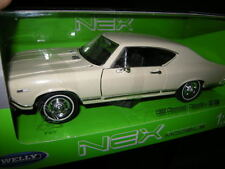 1:24 Welly Chevrolet Chevelle SS 396 beige/cream OVP