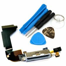 Replacement Dock Connector Microphone USB Charging Port & Tools For iPhone 4