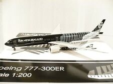 JC Wings 200 Air New Zealand B777-300ER, All Blacks, Reg.#ZK-OKQ 1:200 Scale @@
