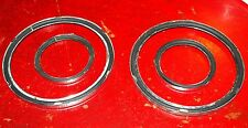MGA,MGB & MGC glass to bezel instrument seals, CHROME BUMPER CARS.