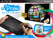 UDraw GAME TABLET ps3 (FREE Studio Instant Artist) * NUOVO E SIGILLATO *