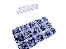 15 value 600pcs Bipolar Transistor TO-92 Box Kit A1015 - 2N5551