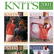 4 Issues on CD: INTERWEAVE KNITS MAGAZINE 2001 Complete