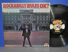 V.A. Rockabilly Rules OK? '78 Charly Records Vinyl LP plays great cleaned