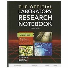THE OFFICIAL LABORATORY RESEARCH NOTEBOOK [9781284029604] (PAPERBACK) NEW