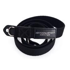 Artisan & Artiste sangle Appareil Photo pour LEICA & premium compacte. l'ACAM 102 Noir