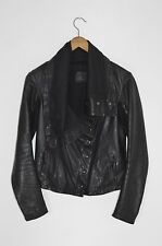 *STUNNING* AllSaints Spitalfields Ladies KAITO Leather Jacket UK10 US6 EU38