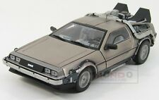 De Lorean Back To The Future 1 Ritorno Al Futuro 1 Silver Sunstar 1:18 SS2711