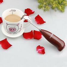 Handheld Drinks Milk Frother Foamer Whisk Mixer Stirrer Egg Beater Coffee HOT US