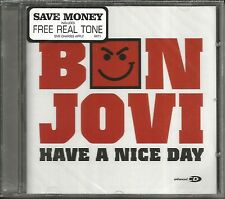 BON JOVI Have A Nice Day w/ I get / Miss fourth LIVE & VIDEO UK CD Single SEALED