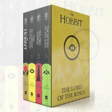 The Hobbit The Lord of The Rings Box Set Children Gift Set By J R R Tolkien,