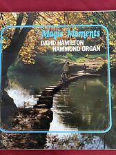 DAVID HAMILTON:MAGIC MOMENTS 1972 LP JOYS232  Hammond organ + Tony Kinsey(drums)