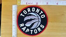 NBA Toronto Raptors Logo embroidered Iron on Patch High Quality Shirt Cap